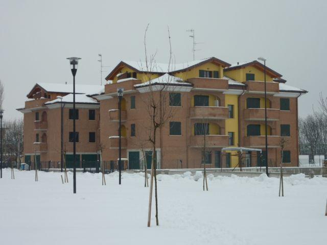 Le Palazzine con Neve