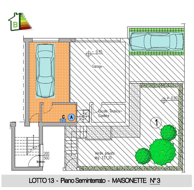 Maisonette n° 3 - 2° STRALCIO- P.Semint