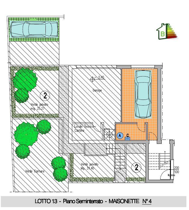 Maisonette n°4 - 2° STRALCIO- P.Semint