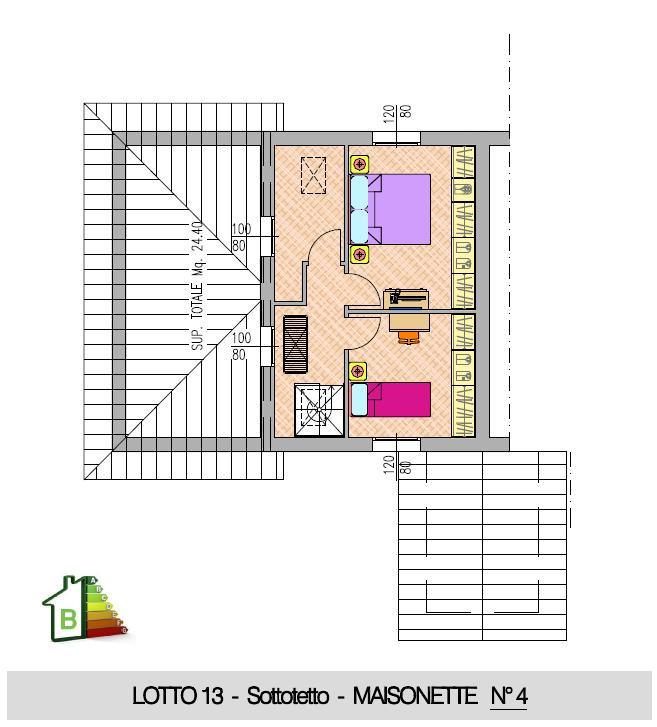 Maisonette n°4 - 2° STRALCIO - P.Sottotetto
