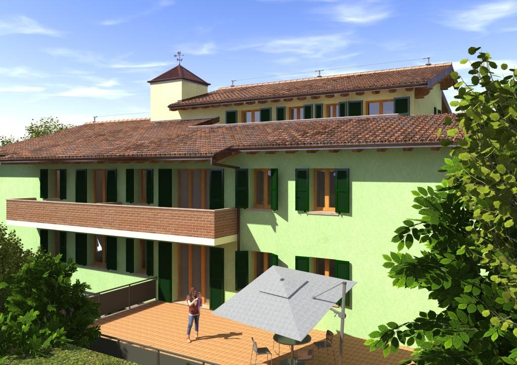 "Cavriago – lotto 3 del Residence ""I Parchi"" – maisonette n°2"