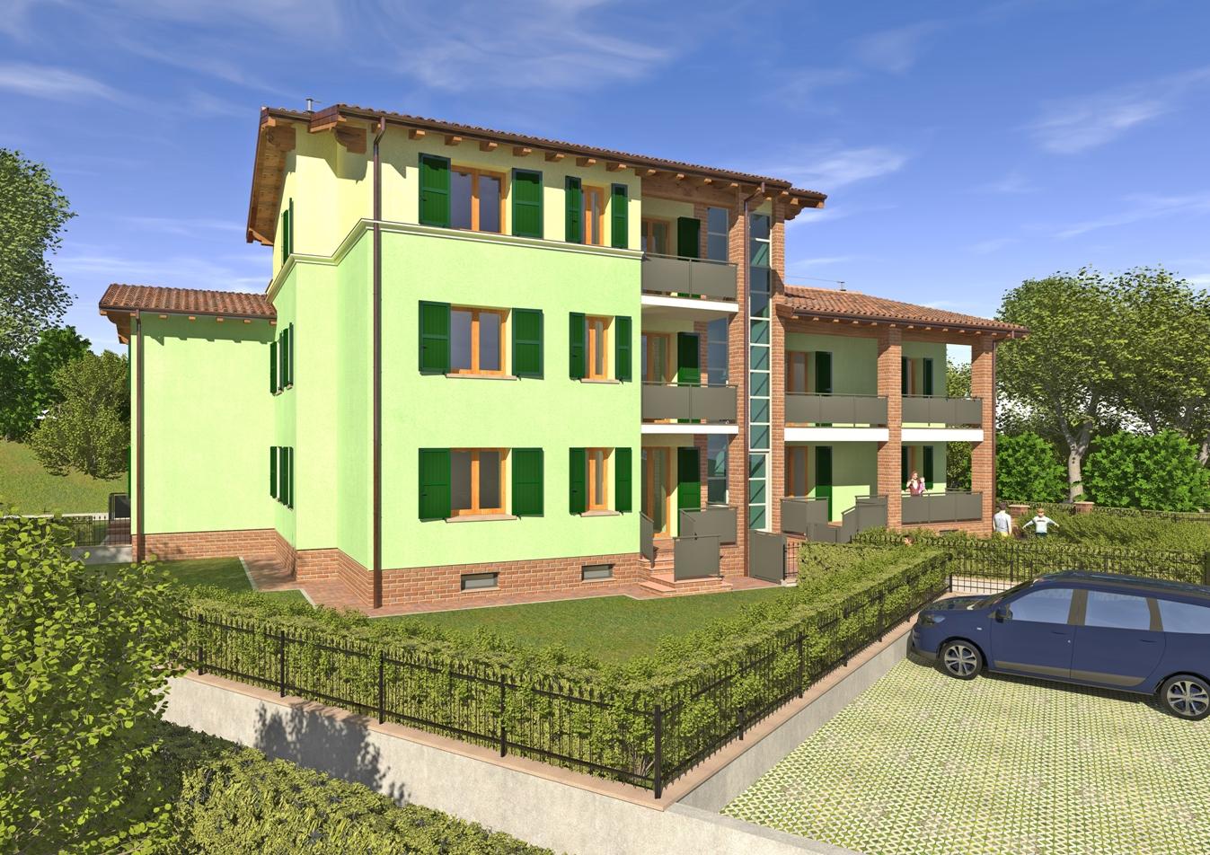 Cavriago – lotto 3 – appartamento n°4