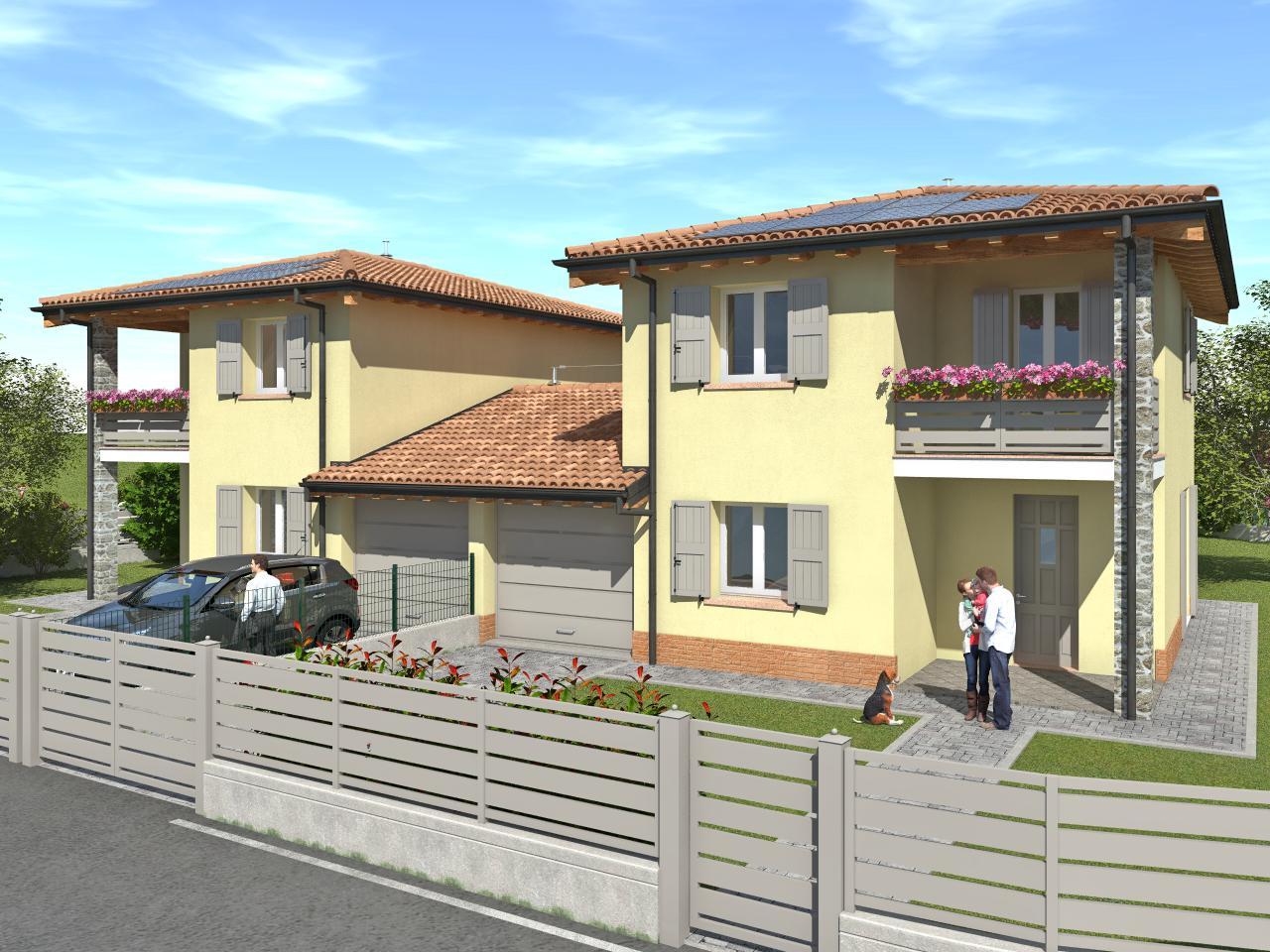 Montecchio E. – Ville abbinate (lotto A)
