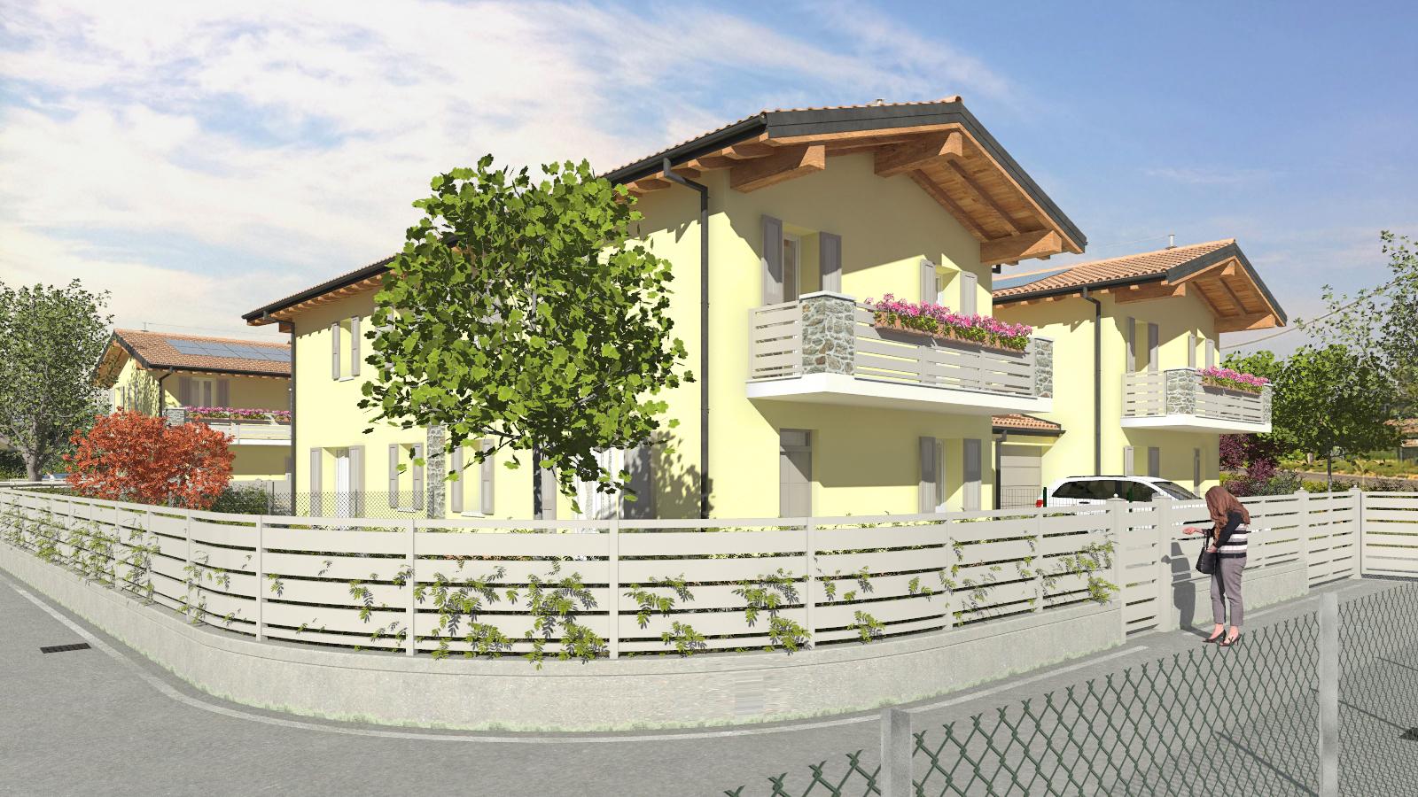 Montecchio E. – Ville Quadrifoglio (Villa B4)