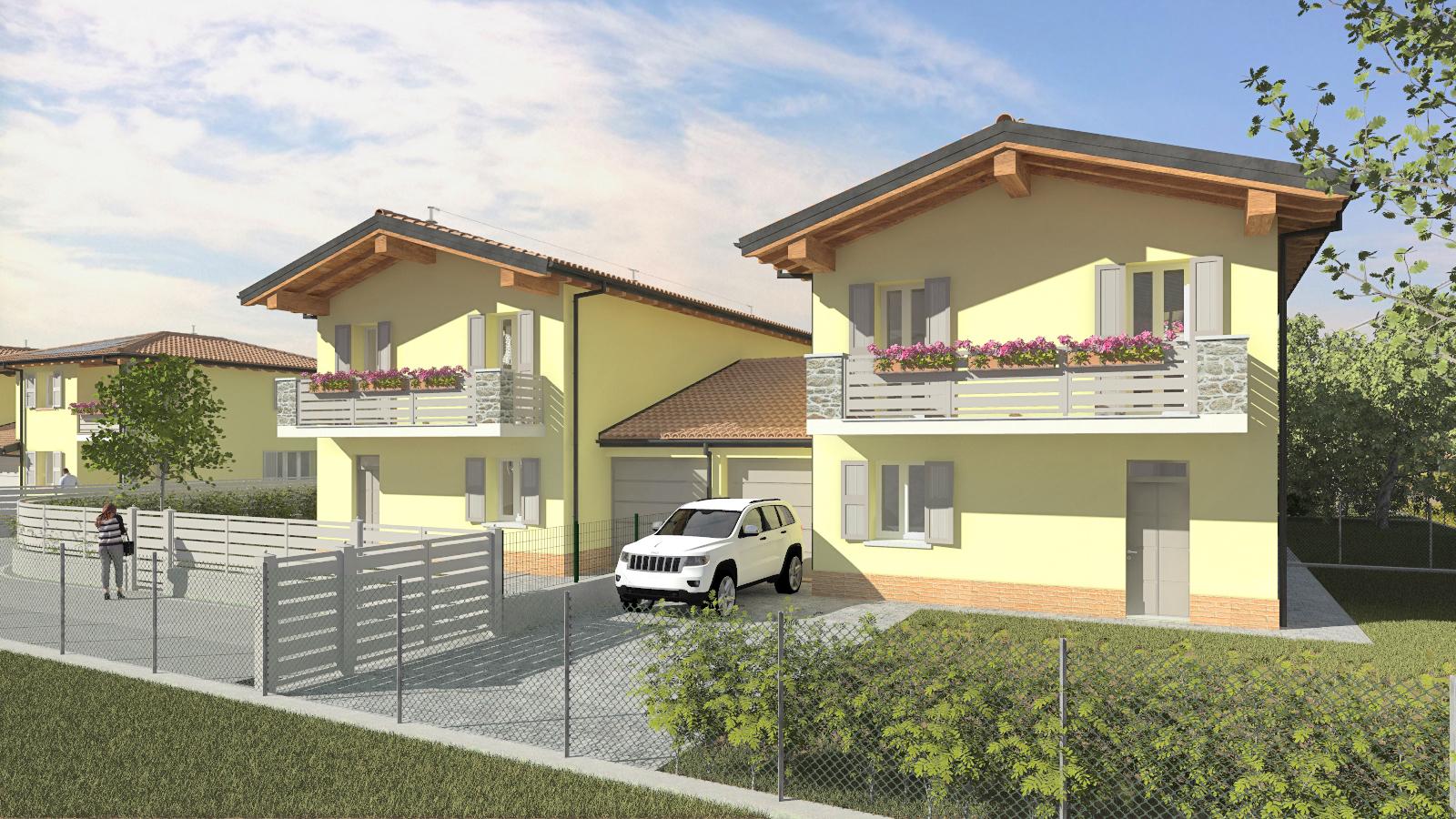 Montecchio E. – ville quadrifoglio (lotto B)
